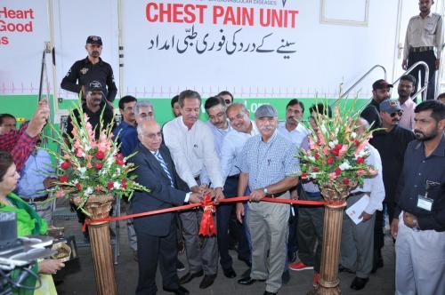 Chest Pain Unit Inauguration at Gulshan Chowrangi